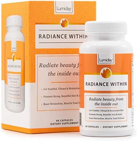 Lumiday Radiance Within Luxe Beauty Booster and Wellness Supplement for Women Stress and Mood product image
