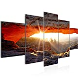 Bilder Grand Canyon Wandbild 200 x 100 cm Vlies - Leinwand