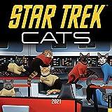 Star Trek: Cats 2021 Wall Calendar