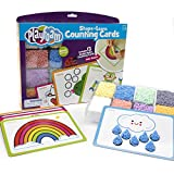 Educational Insights Playfoam Shape & Learn Counting Set, Flash Card Set, Fidget, Sensory Toys, Gifts for Boys & Girls, Ages 3+