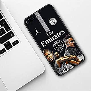 Half-Wrapped Case - Fly PSG Paris Football Jersey Jordan Sport Print Soft Silicone TPU Phone Case for iPhone SE 5 5S