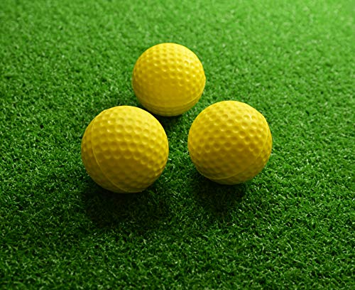 Pride Sports Practice Golf Balls (Pack of 12) - Yellow