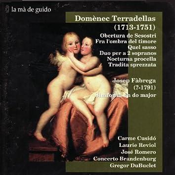 Terradellas: Obertura de Sesostri / Fàbrega: Simfonia en do major