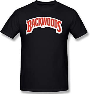Mens Cool Backwoods Cigars JR Cigar Tees Black