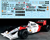 1/20 MCLAREN MP4/6 for FUJIMI Ayrton Senna/Berger Decals TB Decal TBD182