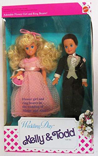 Wedding Day Kelly & Todd Gift Set Barbie Dolls 1991 Mattel