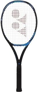 Yonex EZONE 100 (300g) Bright Blue/Black Tennis Racquet (Nick Kyrgios' Racket) Strung with Custom Tennis String Colors