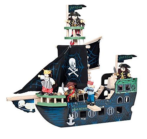 Le Toy Van - 41340 - Figurine - Le Bateau Pirate (Petit)