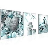 Bilder Feng Shui Steine 3 Teilig Bild auf Vlies Leinwand