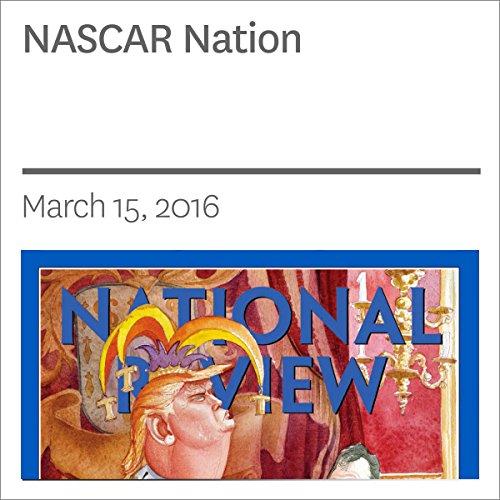 NASCAR Nation audiobook cover art