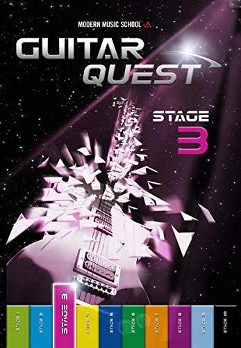 Guitar Quest Stage 3: Gitarrenschule Anfänger. Spielend leicht Gitarre lernen. Gitarrenbuch / Songbuch mit Bonus-Material (DEU)