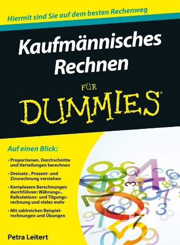 Kaufmannisches Rechnen fur Dummies (Für Dummies)