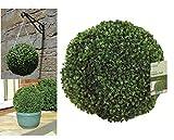 Gardman 02802 - Topiary effetto foglia palla, verde, 30 cm