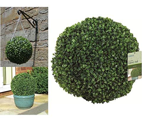 Eden Bloom 02802 Effet Feuille de Balle Topiaire, Vert, 30 cm