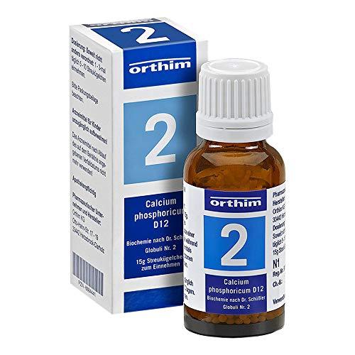 BIOCHEMIE Globuli 2 Calcium phosphoricum D 12 15 g
