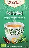 Yogi Tea Felicidad - Paquete de 6 x 17 Sobres - Total: 102 Sobres