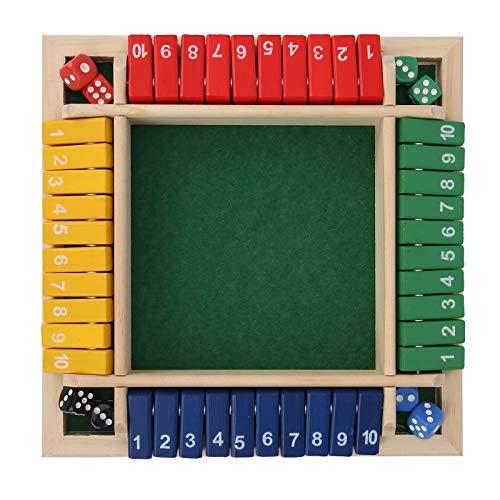 Juego de matemáticas de mesa, entrenamiento, paciencia, superación del aburrimiento, matando el tiempo, entrenamiento, cerebro, madera, dados, juego de matemáticas, entretenimiento duradero