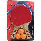 Best Tt Bats - Wasan Table Tennis Racquet Set TT Bat (Red,Kids,Pack) Review