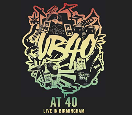 UB40 AT 40 Live in Birmingham Limited Edition triple disc 2 CD/1 DVD NTSC. Free shipping to USA from UK