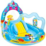 Intex Mermaid Kingdom Inflatable Play Center, 110 X 63 X 55,...