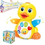 ToyThrill Duck Toy - Musical Baby Toys for 1 Year Old Girl & Boy,...