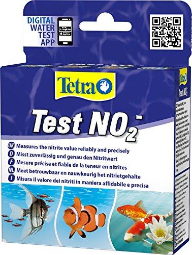 Tetra Test NO2 (Nitrit) - Wassertest für Süßwasser-Aquarien, Meerwasser-Aquarien und Gartenteiche, misst zuverlässig und genau den Nitritwert