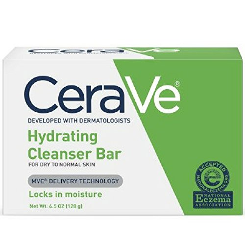 CeraVe Hydrating Cleansing Bar 4.5 oz (Pack of 12)