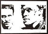 Póster El Club de la Lucha Grafiti Hecho a Mano - Handmade Street Art - Artwork Fight Club