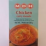 MDH Chicken Curry Masala 100g miscela di spezie per piatti a base di pollo alimenti pietanze pronte specialita' indiane