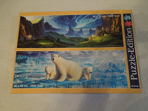 Weltbild Puzzle-Edition The Runes of The Earth/ Polar Bears in The Arctic 2x1000-tlg.