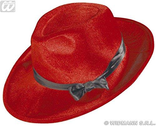 Gangster Fluweel met satijnen lint - 6 Cols 20s 30s Gangster Hoeden Caps & Hoofddeksels voor Fancy Dress Kostuums Accessoire