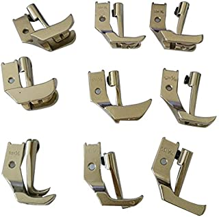 HONEYSEW Singer Industrial Walking Foot Single Piping WELTING FEET S32-9size for Choose (3/8