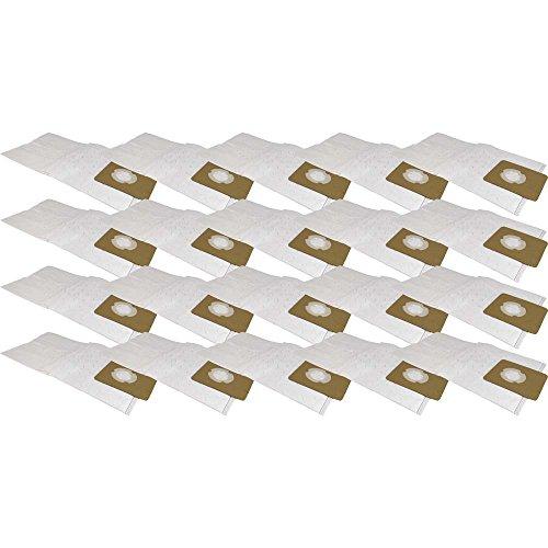20 Staubsaugerbeutel aus Microvlies passend für Fakir/Nilco S 20, 20 L, 22, 25