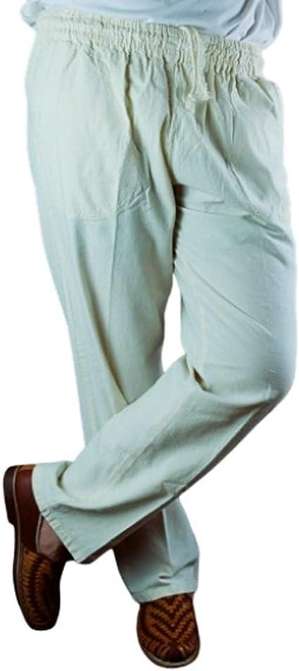 Balam Pantalon De Manta Para Caballero Amazon Com Mx Ropa Zapatos Y Accesorios