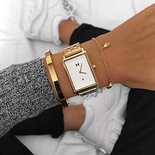 MVMT Women's Minimalist Signature Square Watch WeeklyReviewer