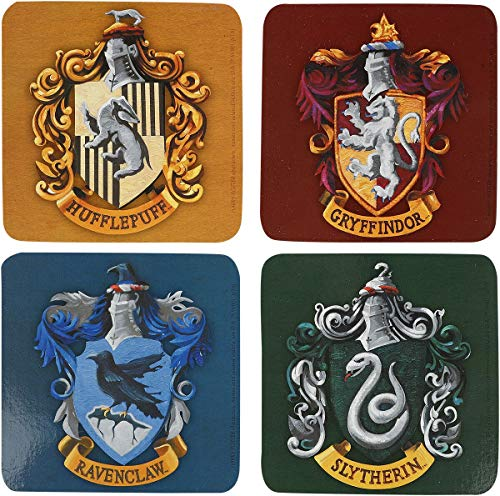 ABYstyle – Harry Potter – Juego de 4 Posavasos