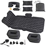 Onirii Inflatable Car Air Mattress Bed with Back Seat Pump Portable Travel,Camping,Vacation,Flitaing Bed,Floating Bed,Sleeping Blow-Up Pad fits SUV,RV,Truck,Minivan/Compact Twin Size