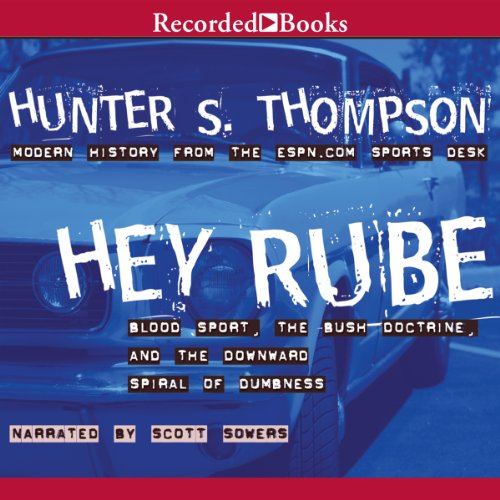 Hey Rube audiobook cover art
