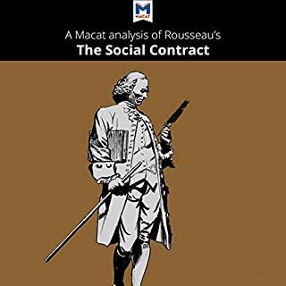 A Macat Analysis of Jean-Jacques Rousseau's The Social Contract audiobook cover art