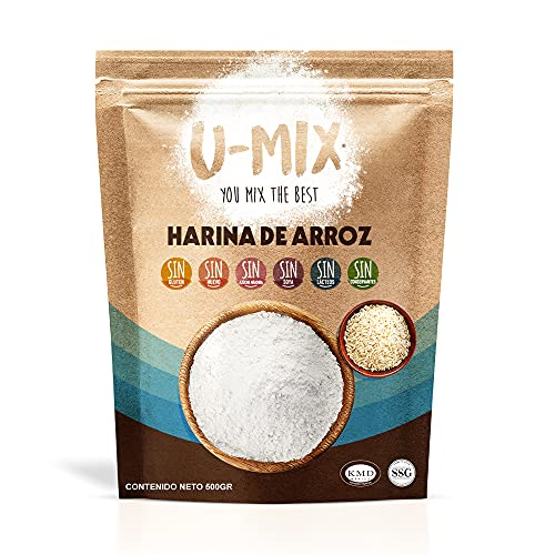 U Mix You Mix, Harina De Arroz Sin Gluten 500gr Kosher