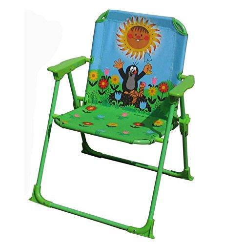 Chaise pliante de jardin pour enfant, motif \