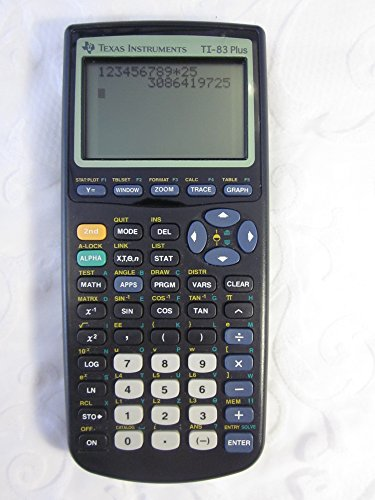Ti-83 Plus Graphics Calculator by Texas Instruments