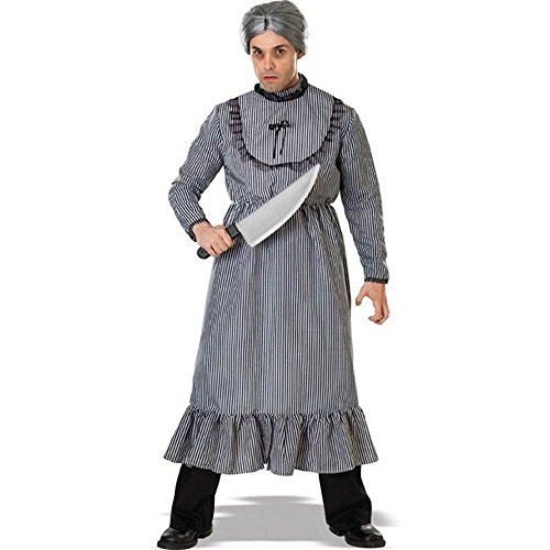 Psycho Mother's Dress Adult Costume Size: Standard