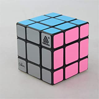 High quality Three-order Black Mixed Element Cube Smooth 3x3x3 Unequal Cube, Environmental Stickers Children and Adult Edu...