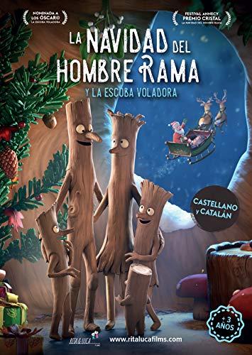 La Navidad Del Hombre Rama Y La Escoba Voladora Dvd
