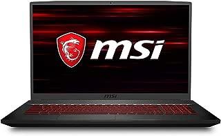 MSI NB GF75 THIN 9SC-439XTR I7-9750H 8GB DDR4 GTX1650 GDDR5 4GB 256GB SSD 1TB HDD 17.3 FHD 120Hz DOS