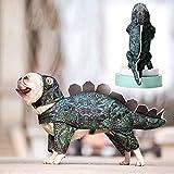 Gychee Dinosaure Costume d'halloween de Chien, Costumes Rigolos Stegosaurus, Cosplay pour...