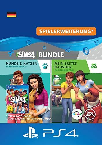 Die Sims 4 - Hunde & Katzen + Mein erstes Haustier-Accessoires | PS4 Download Code - deutsches Konto