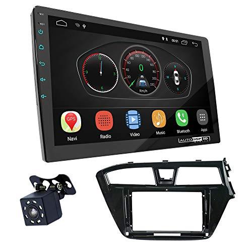 UGAR EX10 9 pollici Android 10.0 DSP Navigazione GPS per Autoradio + 11-703S Kit di Montaggio compatibile per HYUNDAI i-20 2014-2018