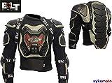 Bolt Core-2 Chaqueta Moto Adultos Protección Armadura Bicicleta Ropa Cuerpo Protección Completa Deportista Motocross Bici (6XL)